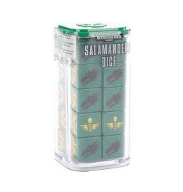 Games Workshop SALAMANDERS DICE
