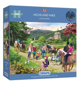 Gibsons 1000PC PUZZLE: HIGHLAND HIKE