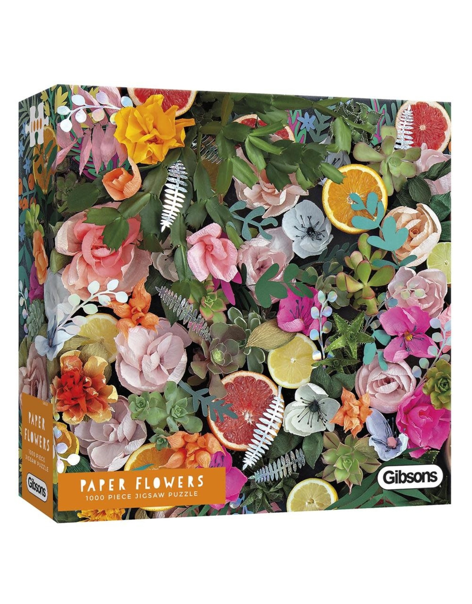 Gibsons 1000PC PUZZLE: PAPER FLOWERS
