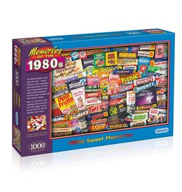 Gibsons 1000PC PUZZLE: 1980s SWEET MEMORIES