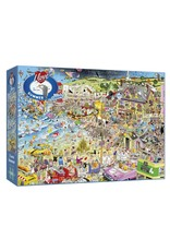 Gibsons 1000PC PUZZLE: I LOVE SUMMER