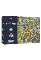 Gibsons 1000PC PUZZLE: BEAUTIFUL BRITAIN