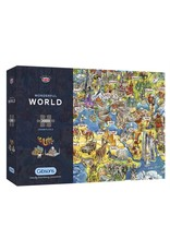 Gibsons 2000PC PUZZLE: WONDERFUL WORLD