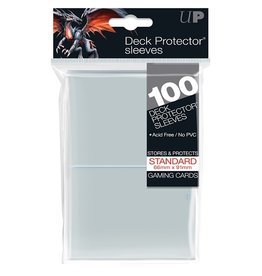 Ultra Pro UP D-PRO CLEAR STANDARD SLEEVES 100CT 66X91MM