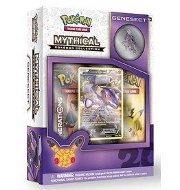 The Pokemon Company International POKEMON MYTHICAL COLLECTION BOX - GENESECT
