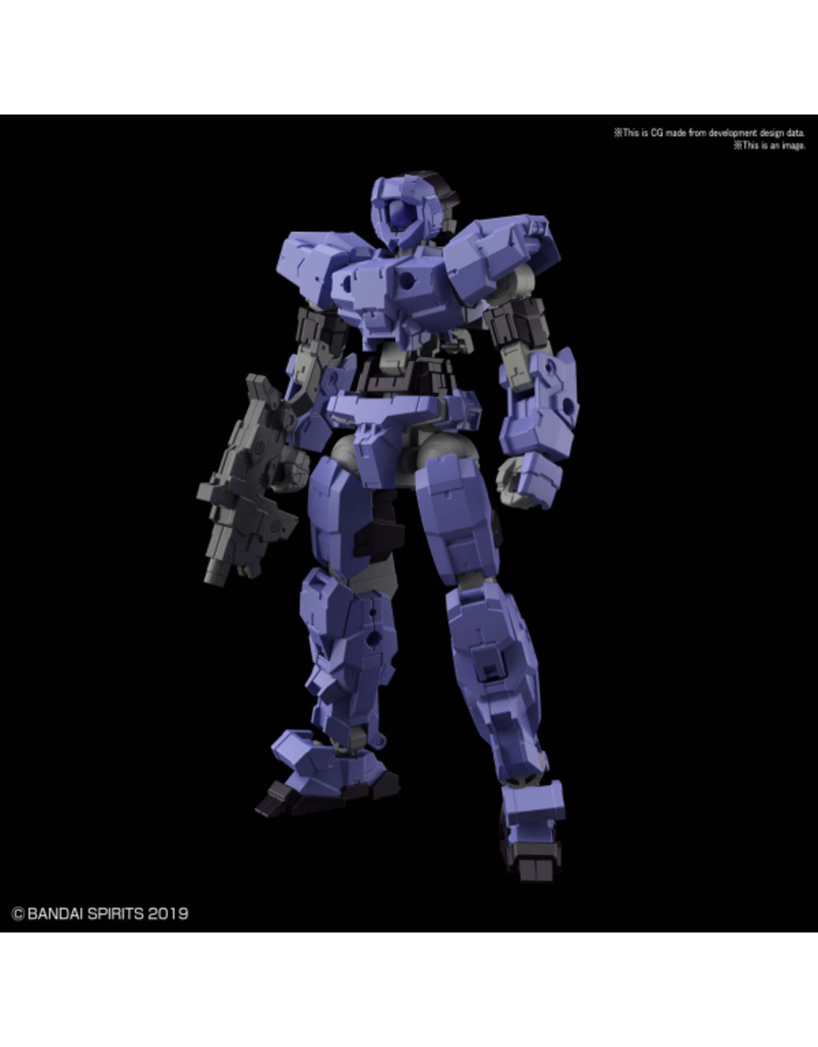 BANDAI 30MM 1/144 #17 eEXM-17 ALTO [PURPLE]