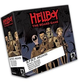 Mantic HELLBOY BPRD ARCHIVES EXPANSION