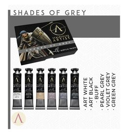 Scale75 SCALECOLOR ARTIST PAINT SET: SHADES OF GREY  6PC 20 ML