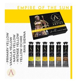 Scale75 SCALECOLOR ARTIST PAINT SET: EMPIRE OF THE SUN  6PC 20 ML