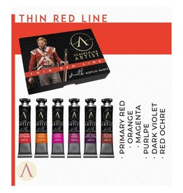 Scale75 SCALECOLOR ARTIST PAINT SET: THIN RED LINE  6PC 20 ML