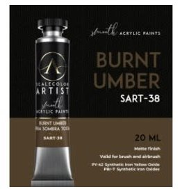 Scale75 SCALECOLOR ARTIST: BURNT UMBER 20 ML