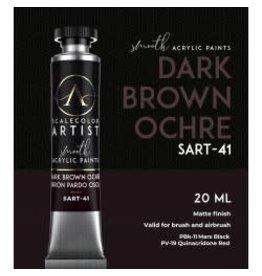 Scale75 SCALECOLOR ARTIST: DARK BROWN OCHRE 20 ML
