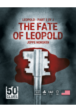 NORSKER GAMES 50 CLUES: THE FATE OF LEOPOLD (#3) (STREET DATE 2021)