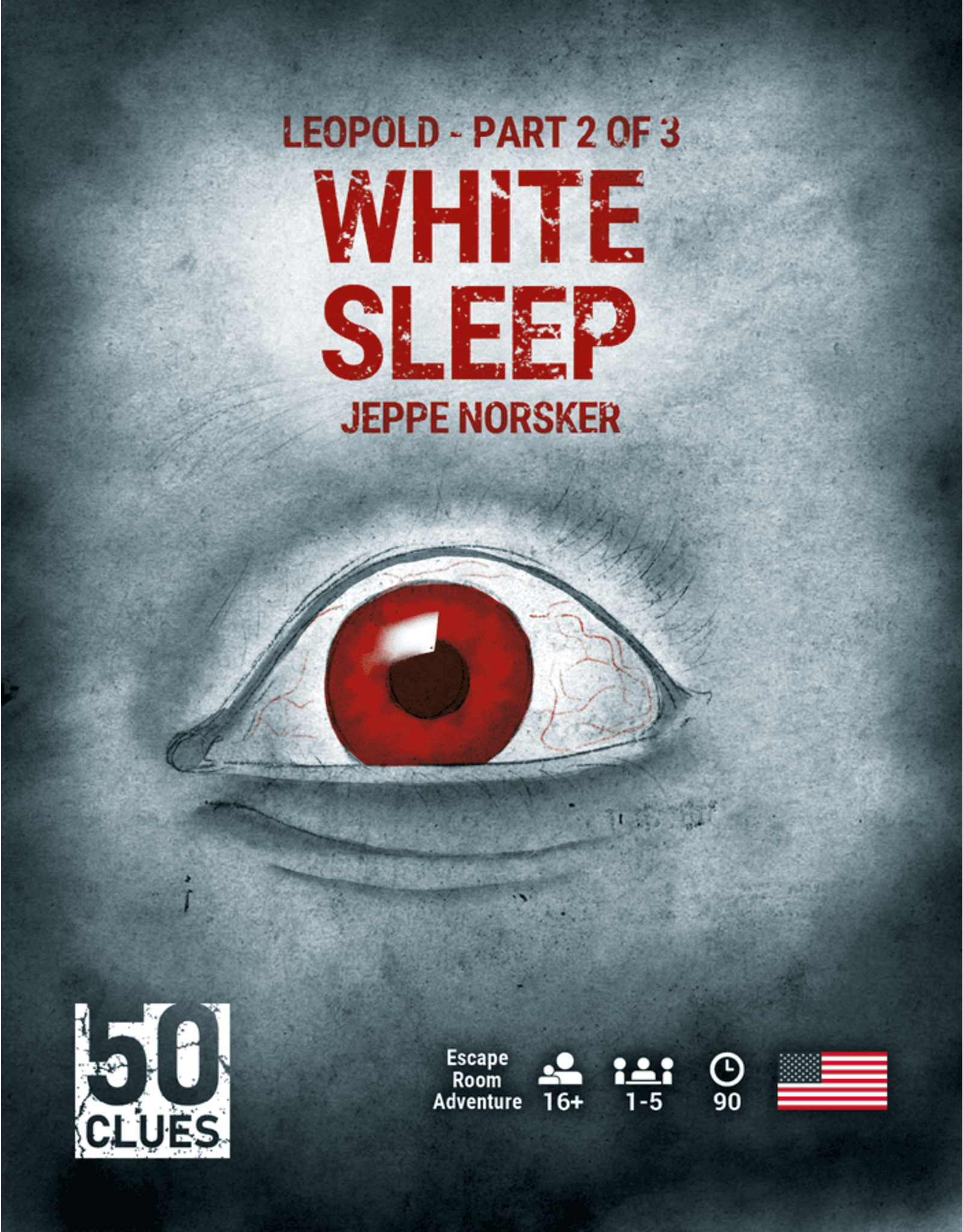 NORSKER GAMES 50 CLUES: WHITE SLEEP (2/3)