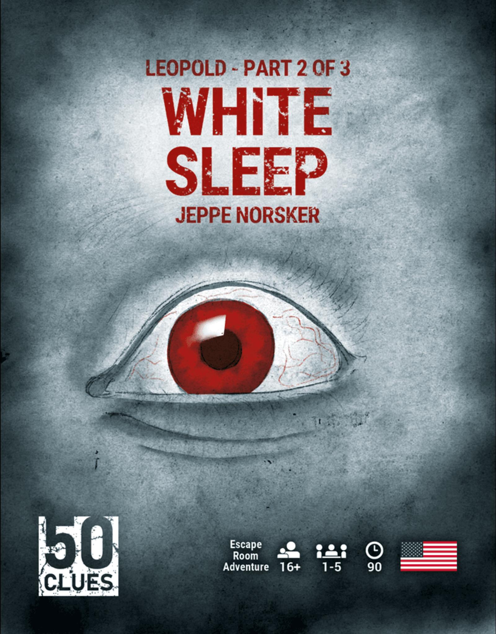 NORSKER GAMES 50 CLUES: WHITE SLEEP (#2) (STREET DATE 2021)