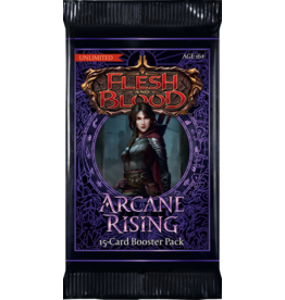 FLESH AND BLOOD ARCANE RISING UNL BOOSTER PACK