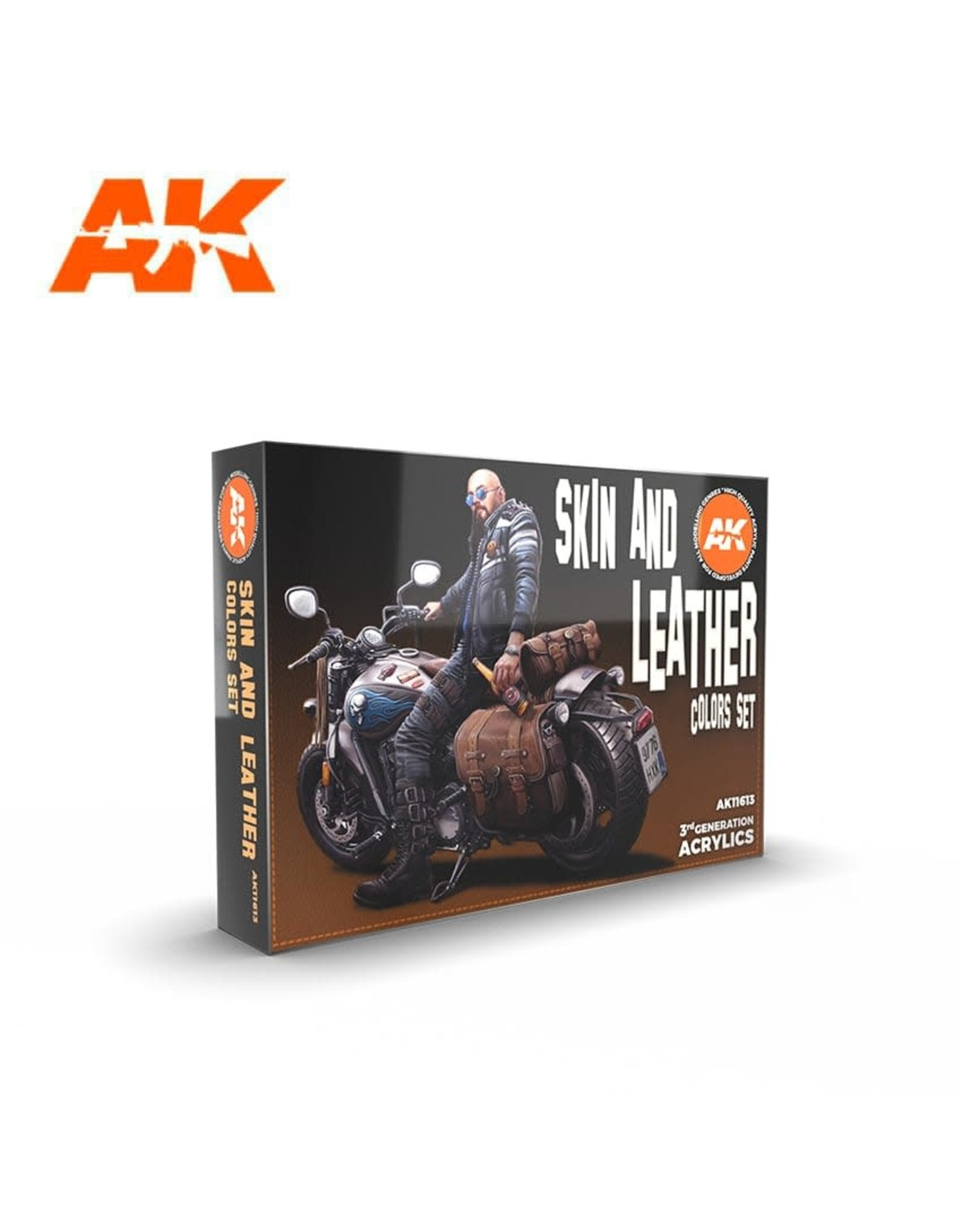 AK Interactive 3G SKIN AND LEATHER COLORS SET