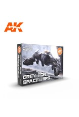 AK Interactive 3G GREY FOR SPACESHIPS SET