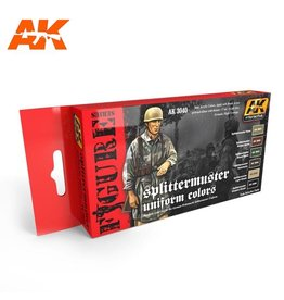 AK Interactive SPLITTERMUSTER UNIFORM COLORS