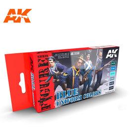 AK Interactive BLUE UNIFORM COLORS