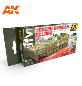AK Interactive MODERN RUSSIA COLORS VOL. 1