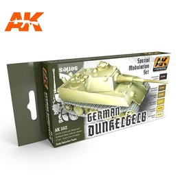 AK Interactive DUNKELGELB MODULATION SET
