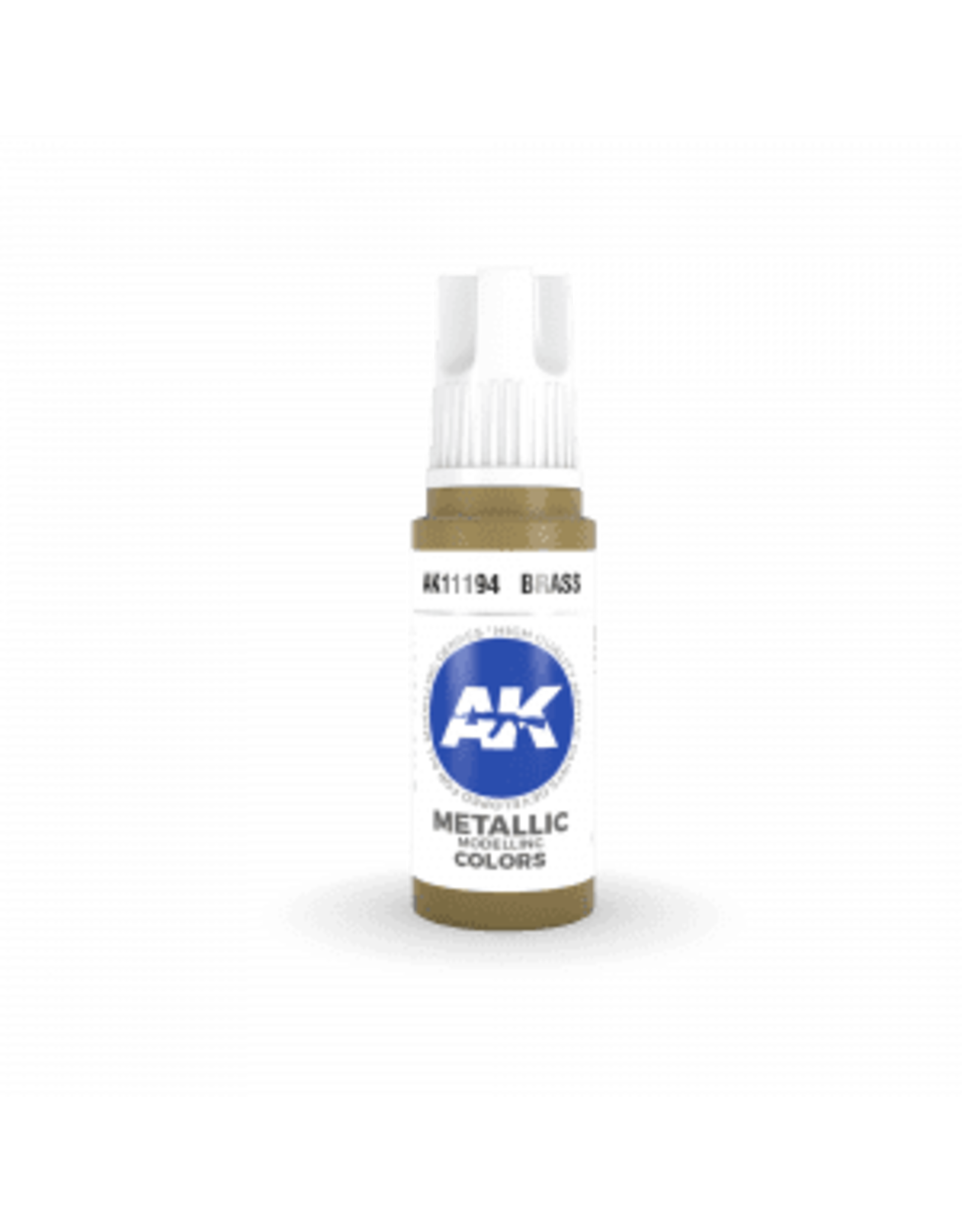 AK Interactive 3RD GEN ACRYLIC BRASS 17ML
