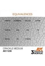 AK Interactive 3RD GEN ACRYLIC CRACKLE MEDIUM 17ML