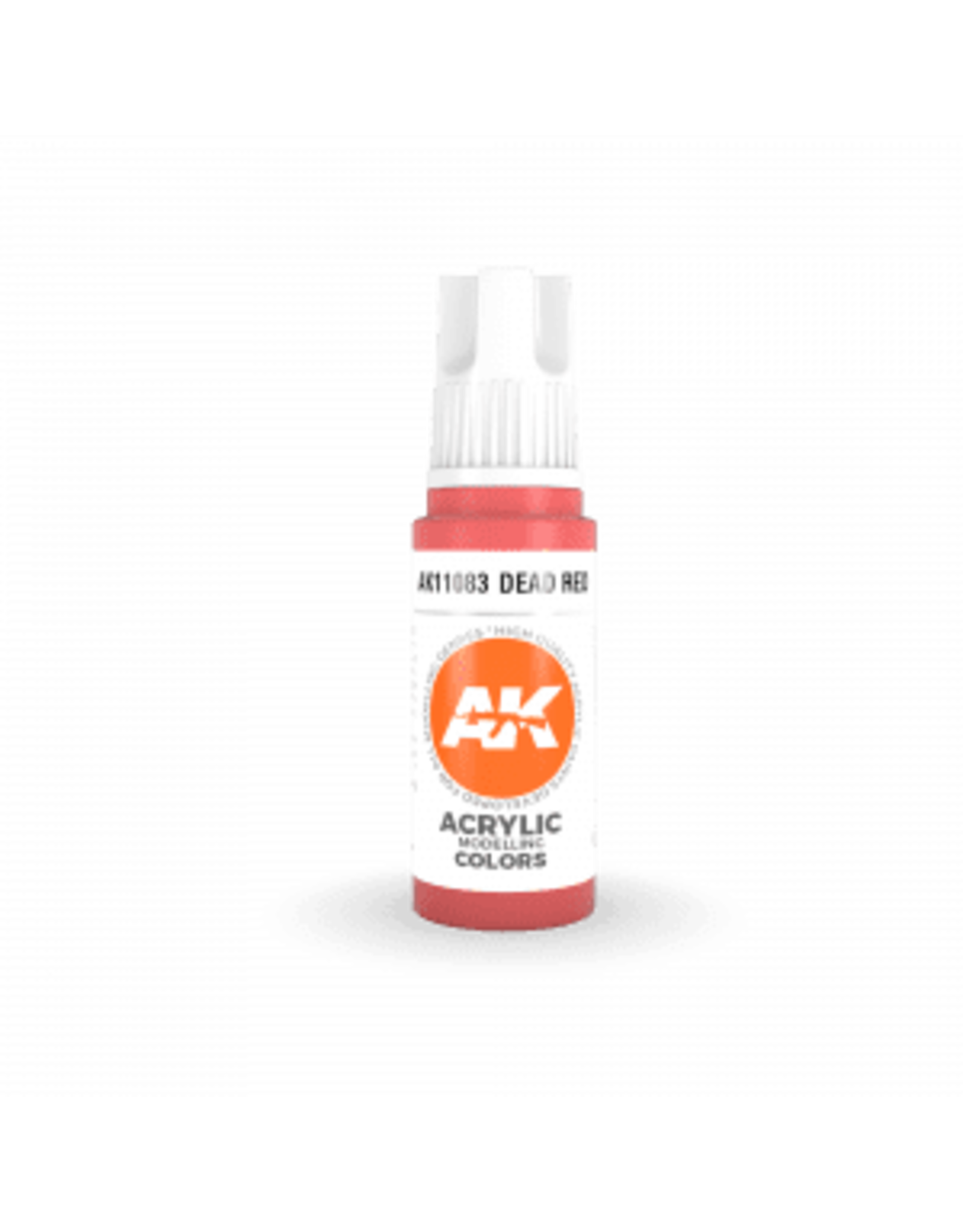 AK Interactive 3RD GEN ACRYLIC DEAD RED 17ML