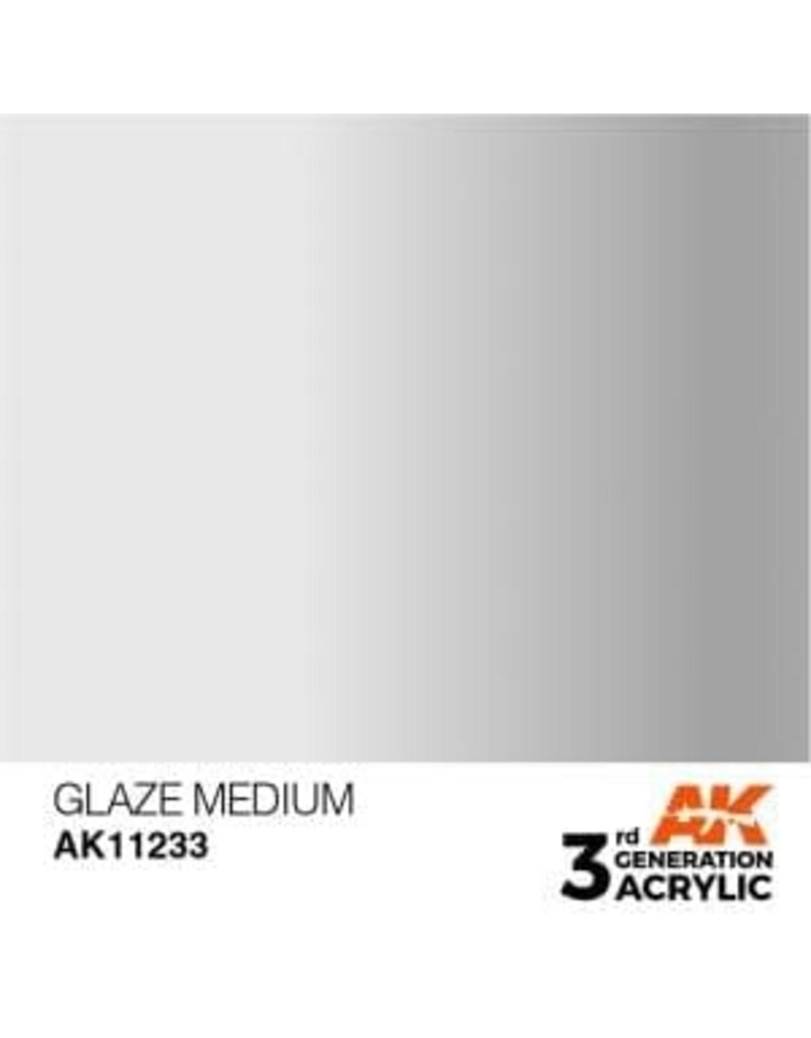 AK Interactive 3RD GEN ACRYLIC GLAZE MEDIUM 17ML