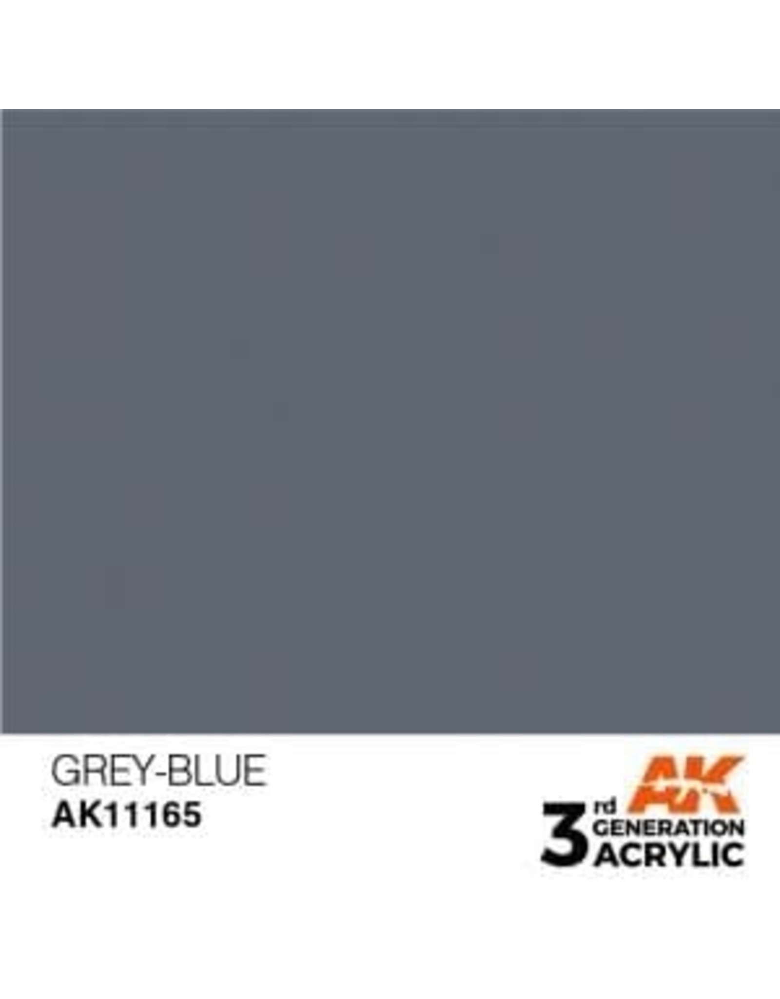 AK Interactive 3RD GEN ACRYLIC GREY-BLUE 17ML