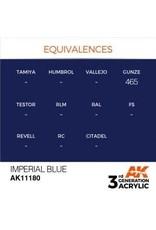 AK Interactive 3RD GEN ACRYLIC IMPERIAL BLUE 17ML