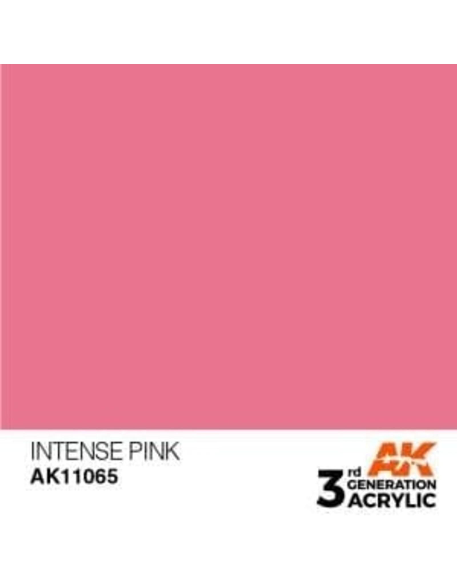 AK Interactive 3RD GEN ACRYLIC INTENSE PINK 17ML