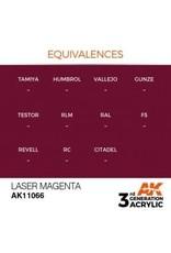 AK Interactive 3RD GEN ACRYLIC LASER MAGENTA 17ML