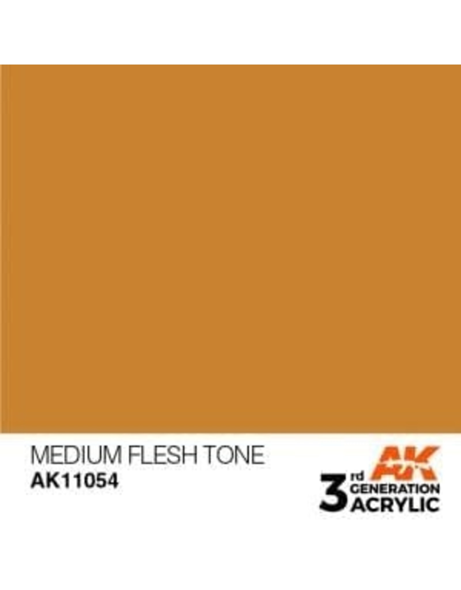 AK Interactive 3RD GEN ACRYLIC MEDIUM FLESH TONE 17ML