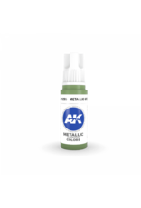 AK Interactive 3RD GEN ACRYLIC METALLIC GREEN 17ML