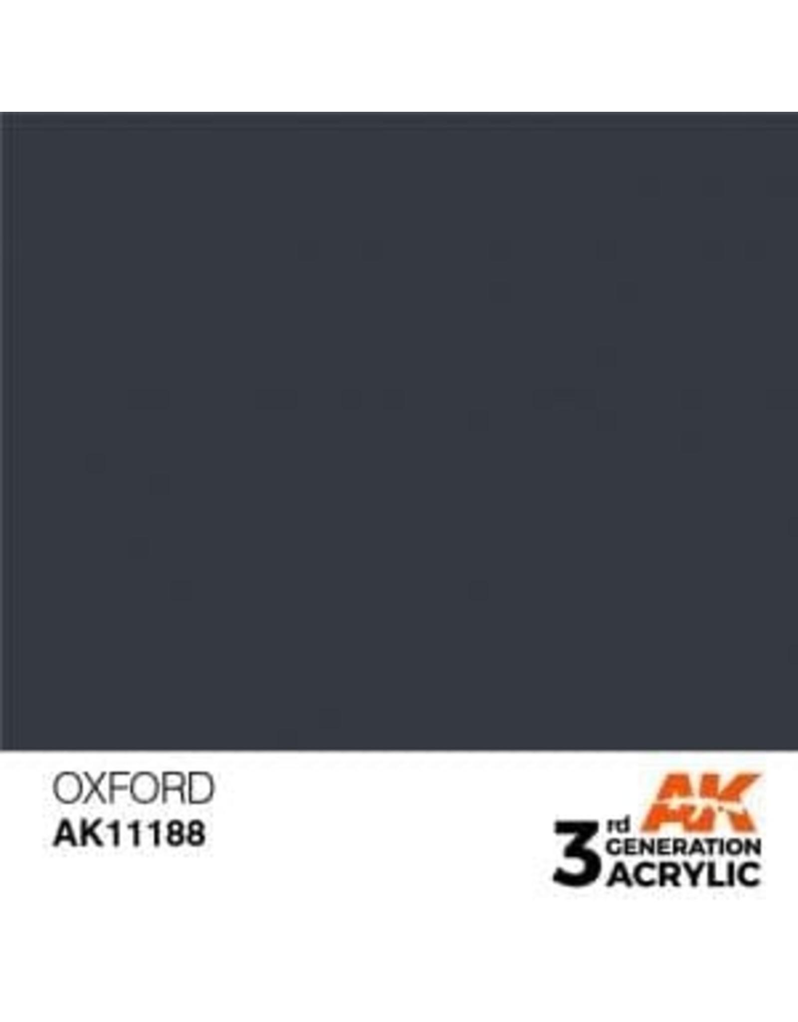 AK Interactive 3RD GEN ACRYLIC OXFORD 17ML