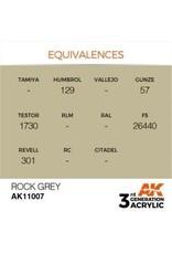 AK Interactive 3RD GEN ACRYLIC ROCK GREY 17ML