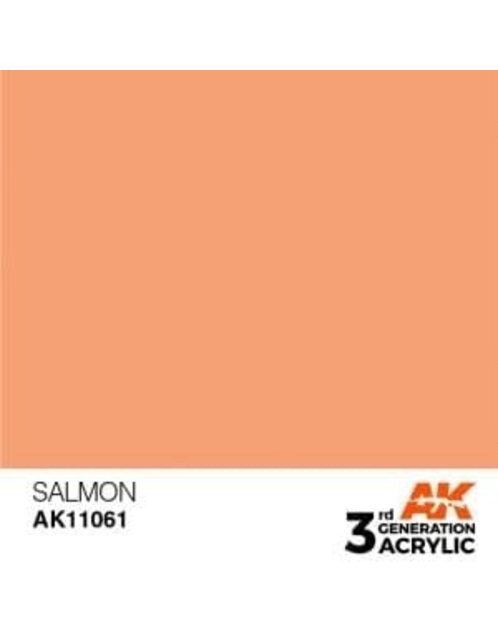 AK Interactive 3RD GEN ACRYLIC SALMON 17ML