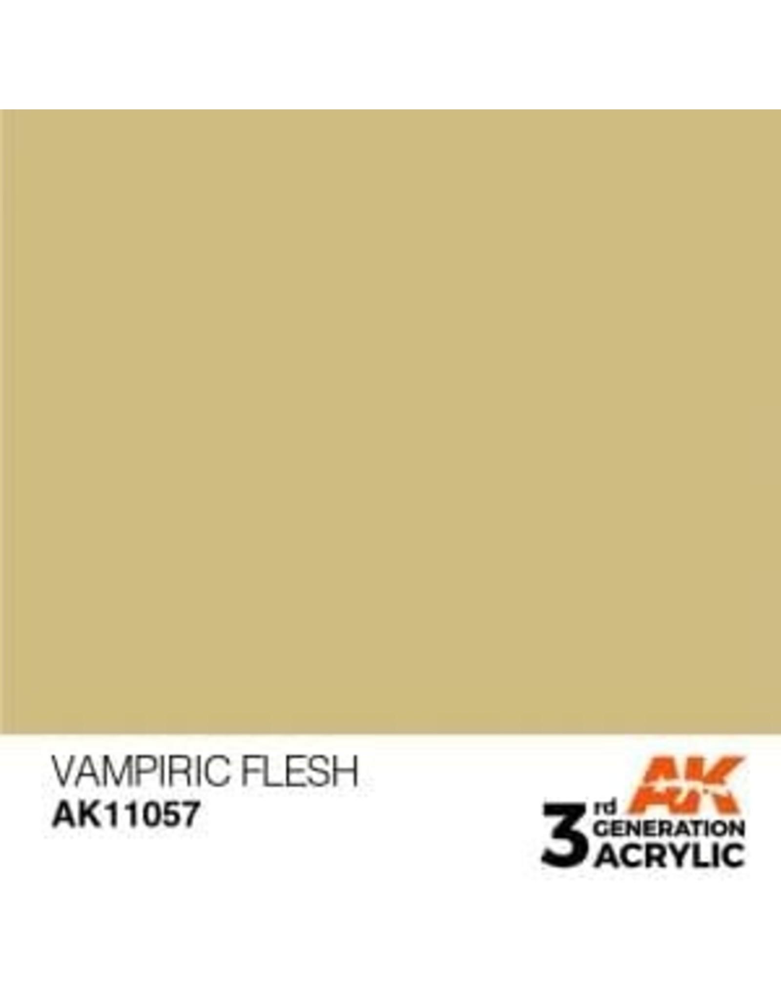 AK Interactive 3RD GEN ACRYLIC VAMPIRIC FLESH 17ML