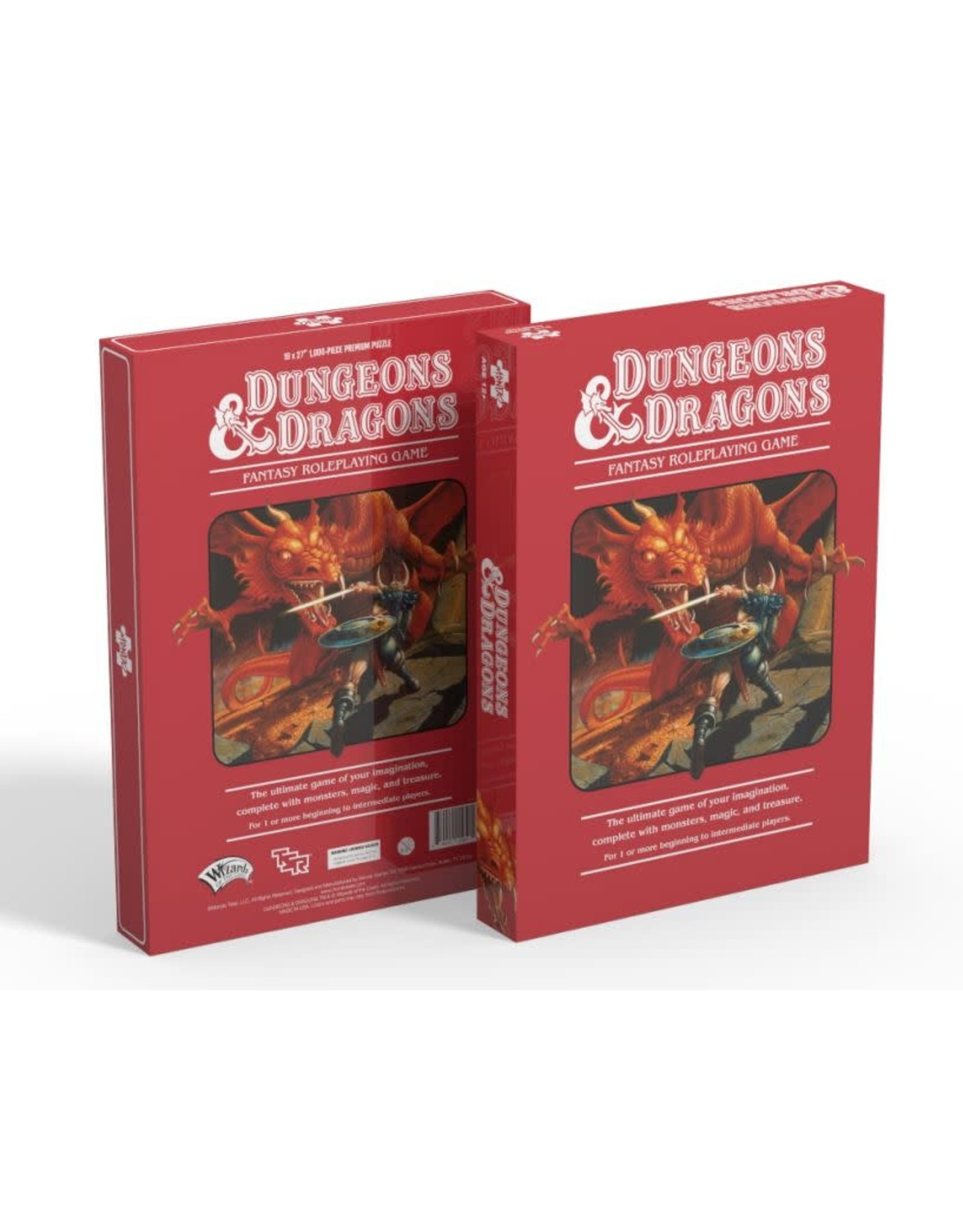 Mondo Games 1000PC PUZZLE - DUNGEONS AND DRAGONS