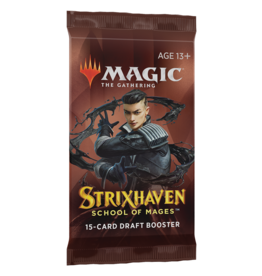 Wizards of the Coast STRIXHAVEN DRAFT BOOSTER PACK (STREET DATE APR 23, 2021)
