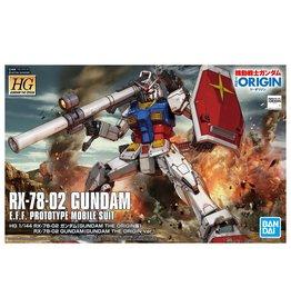 BANDAI HG 1/144 RX-78-02 GUNDAM (GUNDAM THE ORIGIN Ver.)