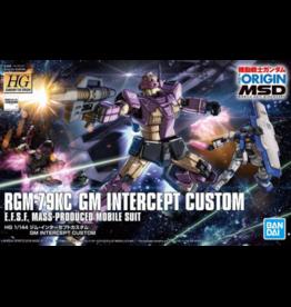 BANDAI HG 1/144 GM INTERCEPT CUSTOM