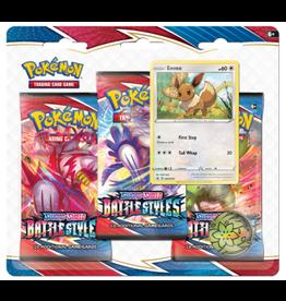 The Pokemon Company International POKEMON SWSH5 BATTLE STYLES 3PK BLISTER