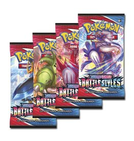 The Pokemon Company International POKEMON SWSH5 BATTLE STYLES BOOSTER PACK
