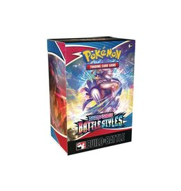 The Pokemon Company International POKEMON SWSH5 BATTLE STYLES BUILD & BATTLE BOX