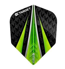 Target Darts TARGET VISION ULTRA GREEN 3 FIN NO.6