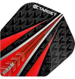 Target Darts TARGET VISION ULTRA RED 3 FIN NO.6