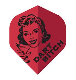 British Darts METRONIC FLIGHTS DART BITCH